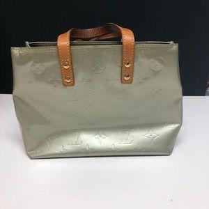 Louis Vuitton Gray Vernis Reade PM Tote Bag MI0061